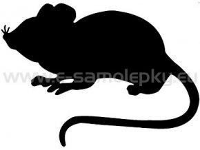 Samolepka - Myš
