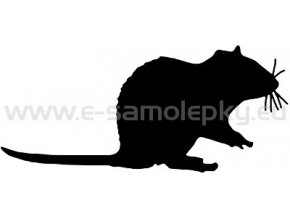 Samolepka - Potkan 02