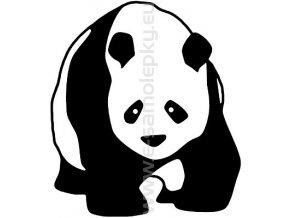 Samolepka - Panda