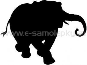 Samolepka - Slon