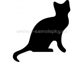Samolepka - Kočka 02