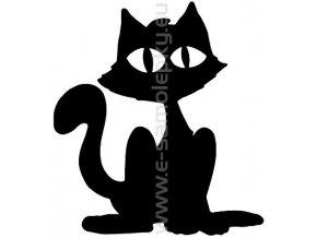 Samolepka - Kočka 07
