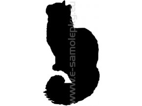 Samolepka - Kočka 10