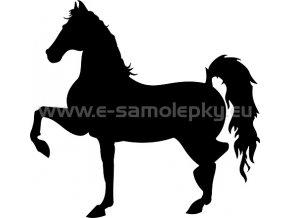 Samolepka - Kůň 02