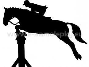 Samolepka - Kůň 09