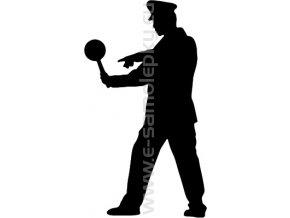 Samolepka - Policista