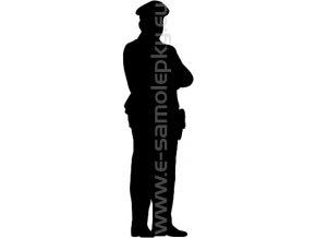 Samolepka - Policista 02