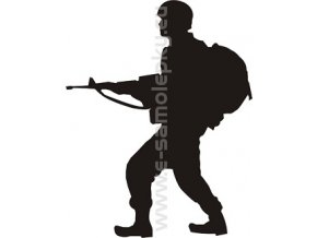 Samolepka - Voják