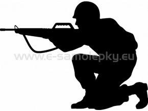 Samolepka - Voják 02