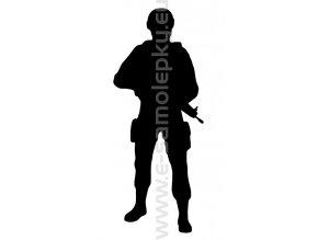 Samolepka - Voják 03