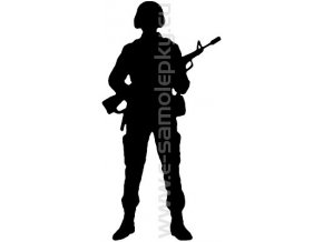 Samolepka - Voják 05