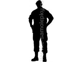 Samolepka - Voják 06