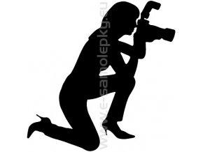 Samolepka - Fotografka