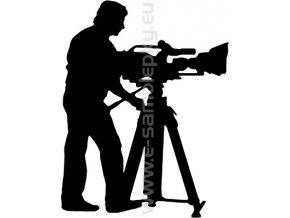 Samolepka - Kameraman 02