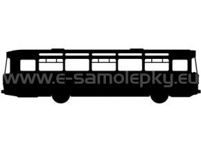 Samolepka - Autobus 04