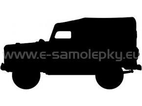 Samolepka - GAZ 69