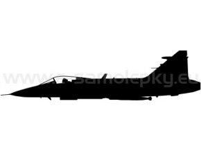 Samolepka - Letadlo JAS 39 Gripen