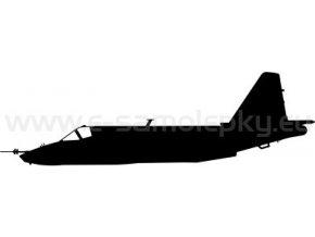 Samolepka - Letadlo SU 25