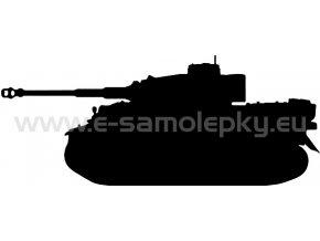 Samolepka - Tank