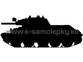 Samolepka - Tank 03