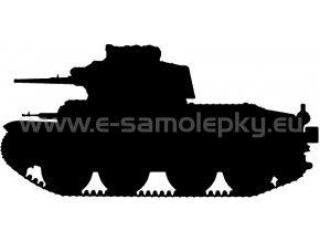 Samolepka - Tank 04