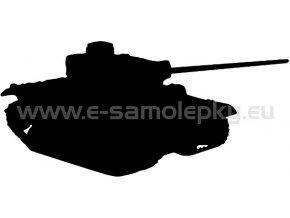 Samolepka - Tank 05