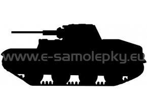 Samolepka - Tank 08