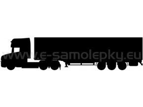 Samolepka - Kamion 04
