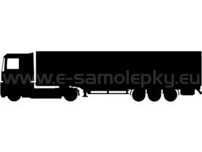 Samolepka - Kamion 07