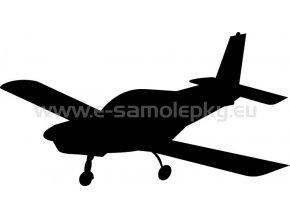 Samolepka - Letadlo 03