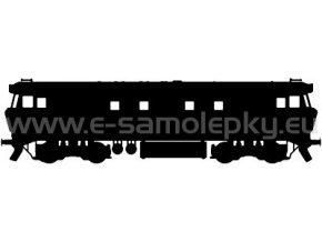 Samolepka - Lokomotiva 06
