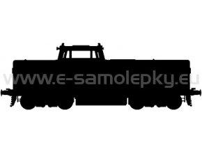 Samolepka - Lokomotiva 11