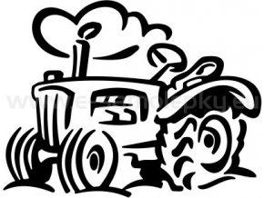 Samolepka - Traktor