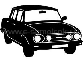 Samolepka - Škoda 100 02