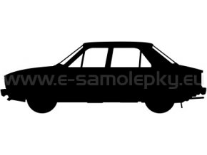 Samolepka - Škoda 105