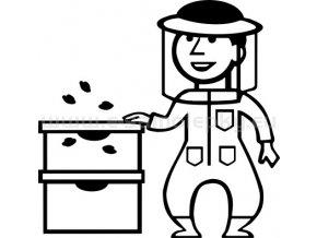 Samolepka - Včelař 02