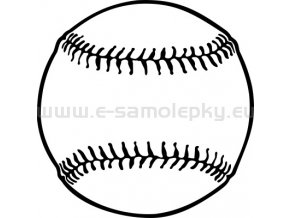 Samolepka - Basebalový míč