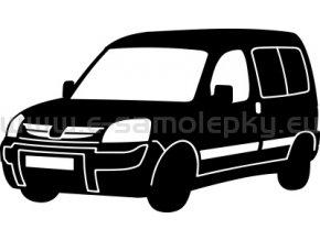 Samolepka - Peugeot Partner