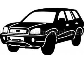 Samolepka - Hyundai Santa Fe