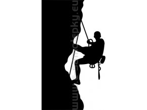 Samolepka - Horolezec 07