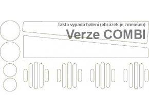 Sada reflexních prvků pro Škoda Octavia I COMBI