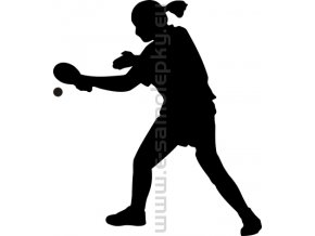 Samolepka - Stolní tenis 04