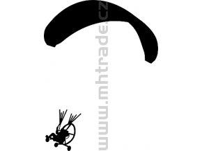 Samolepka - Motorový paragliding 04