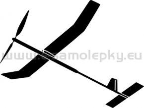 Samolepka - Model letadla