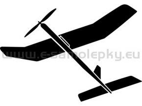 Samolepka - Model letadla  03