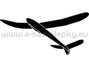 Samolepka - Model letadla  Luňák 02