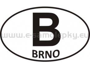 Samolepka - PZ - Brno - B