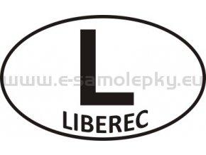 Samolepka - PZ - Liberec - L