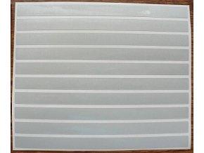 Reflexní proužky - bílé