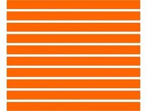 Reflexní proužky - oranžové